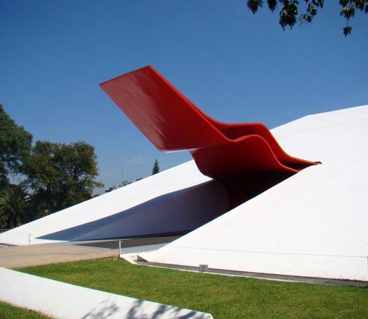 Imagem da arte do Auditório do Ibirapuera