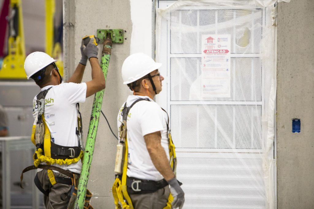 projeção construção civil 2020