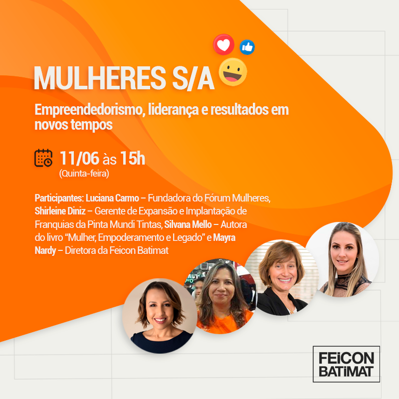 Live Feicon - Mulheres S/A