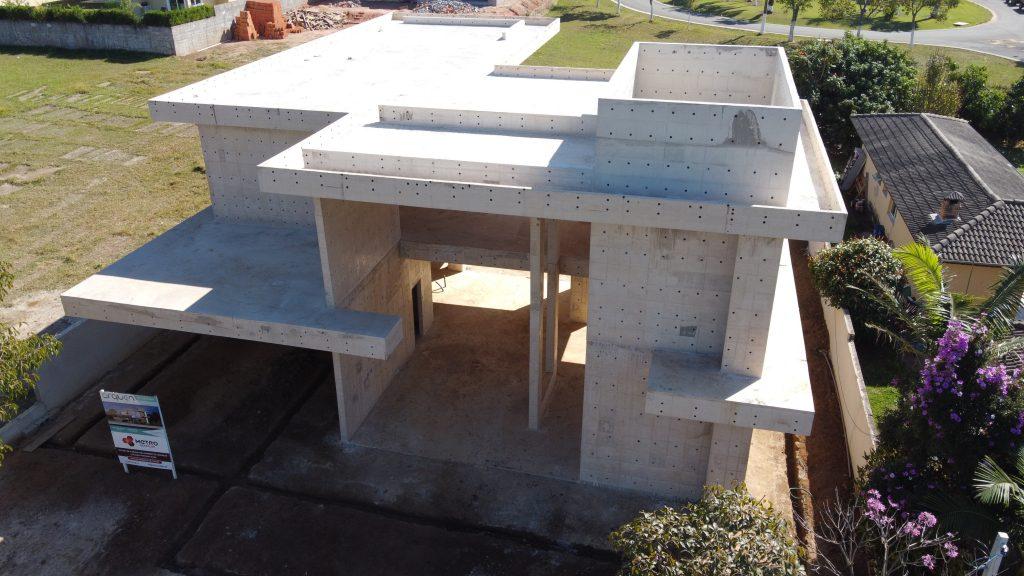 O que são e quais as vantagens de se usar paredes de concreto na construção